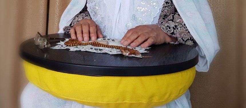 میز نماز قابل حمل