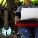میز لپ تاپ قابل حمل اشوان